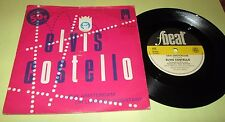 "ELVIS COSTELLO New Amsterdam 45 7"" NM UK F BEAT 1980 w/PS PICTURE SLEEVE LISTEN"