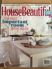 House Beautiful Most Important Room Fab Kitchen Oct 2014 FREE Priority SHIPPING!