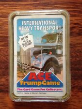 Top Trumps Ace Trump Game International Heavy Transport Sealed Ultra Rare 7727/3