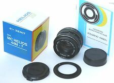 Helios 44M-7 MC lens f/2/58mm Nikon,6 blades,new-old,production year:1991-1992