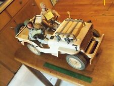 Willys Jeep GI JOE  1/6 Scale Desert Patrol Vehicle 12 inch Hasbro