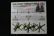 XD100 TAMIYA 1/35 maquette 35027 250 Barricade set military miniatures barriere