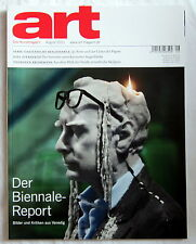 art - Das Kunstmagazin August 2011