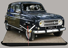 MODEL CARS, RENAULT 4L -02 with Clock