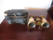 Antique French LeMaire Mother of Pearl Opera Glasses