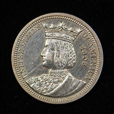 1893 ISABELLA COLUMBIAN COMMEMORATIVE QUARTER DOLLAR
