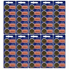 50 Pack Sony CR2032 3V Lithium Coin Batteries FRESHLY NEW USA Seller Expire 2026