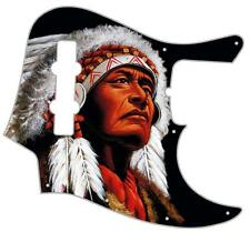 J Jazz Bass Pickguard Custom Fender Graphical Guitar Pick Guard The Chief 2