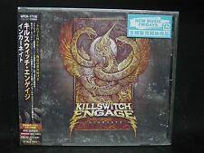 KILLSWITCH ENGAGE Incarnate + 1 JAPAN CD Times Of Grace Shadows Fall Overcast