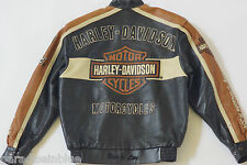 Harley Davidson Men's Prestige Leather USA Made Jacket Bar&Shield 97000-05VM M