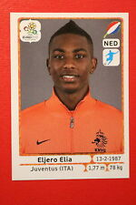 Panini EURO 2012 N. 185 NEDERLAND ELIA  NEW With BLACK BACK TOPMINT!!