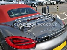 Porsche Boxster - stainless steel trunk luggage rack 981