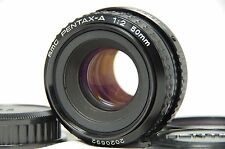 SMC Pentax-A 50mm F/2 f2.0 MF Standard Prime Lens SN2020692 from Japan