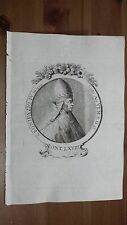 1775 Effigie/Ritratto di Papa San Bonifacio IV Pontefice (Bonifazio Marsica)