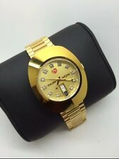 GOLD PLATED RADO DIASTAR 25 JEWELS GENTS WATCH