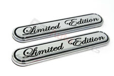 2 Chrome Special Limited Edition Emblems for car*truck rear trunk/side/fender