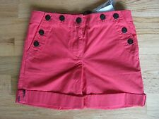 NWT BURBERRY SAILOR RED SHORTS 6Y