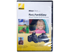 "DVD Nikon School ""Fast, Fun and Easy"" Great DSLR pictures D3000 D5000. English."