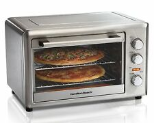 Hamilton Beach 31103A Countertop Oven with Convection and Rotisserie, NOT USED!