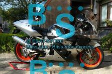 Silver black  Fairing Fit SUZUKI GSX-R600 GSX-R750 SRAD 97 98 1996-1999 004 A1