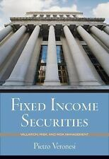 Fixed Income Securities: Valuation Risk & Risk Management International Edition