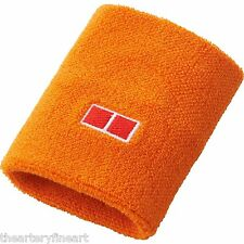 UNIQLO x Novak Djokovic Set of 2 Wristbands Kei Nishikori Tennis Orange **NEW**