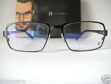 Freudenhaus Titanium Large 57-17 Black One 02 Eyeglass Frame Bifocal Men Glasses