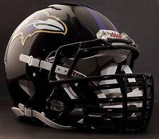 ***CUSTOM*** BALTIMORE RAVENS NFL Riddell Revolution SPEED Football Helmet