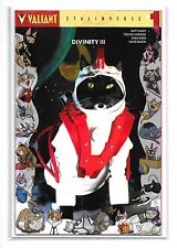 DIVINITY III STALINVERSE #1 - Cat Cosplay Variant Cover - Valiant Comics!