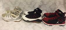 LOT of 3 Jordan Nike 616846-101, 487435-102, 487435-010 Legend TR / Prime Flight