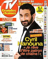 Mag 2015: CYRIL HANOUNA_KARINE LE MARCHAND_JACQUES CHANCEL