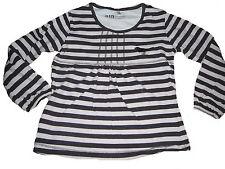 C & A hübsches Langarm Shirt Gr. 110 braun-rosa gestreift !!