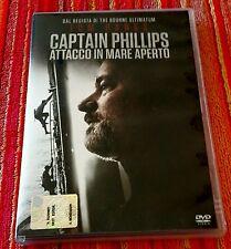 CAPTAIN PHILLIPS Attacco in mare aperto Tom Hanks Drammatico DVD Mondadori 2014
