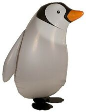 PENGUIN WALKING BALLOON FOIL HELIUM PET PARTY BIRTHDAY AIRWALKER ZOO AIR NEW