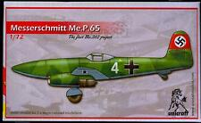 Unicraft Models 1/72 MESSERSCHMITT Me.P.65 The First Me-262 Project