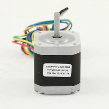 "5.5 kg-cm 4 Wire NEMA 17 Stepper Motor with ""D"" Shaft 