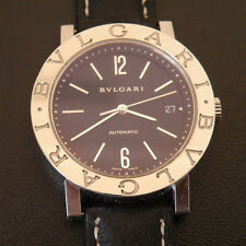 Bvlgari BB38SL AUTO Stainless Steel SWISS Automatic Working Wrist Watch Bulgari