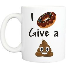 I DOUGHNUT MUG funny novelty tea coffee gift womens mens office christmas ideas