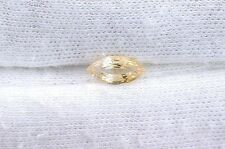 .78 Carat Marquise Natural Golden Yellow Sapphire Gem Stone Gemstone B22A53