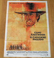 IL CAVALIERE PALLIDO poster manifesto Clint Eastwood Pale Rider Western 1985