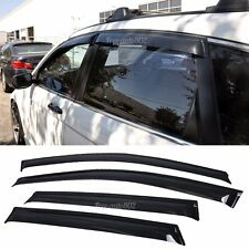 For 07-11 Honda CRV 4DR Sun Window Visor 1.6Mm Dark Smoke Slim Style 4Pcs