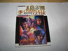 Sangokushi VIII Three Kingdoms Koei PS2 Complete Guide Book Vol 2 Japan Import