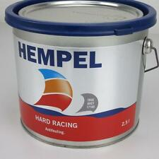 ABVERKAUF: 2,5 l Hempel Antifouling Hard Racing 17160 True Grey