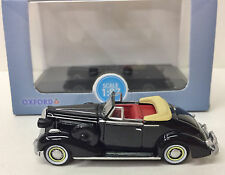 1:87 (HO) '36 Buick Convertible Coupe Black #87BS36001  - Oxford Diecast - NEW