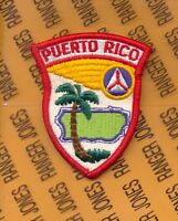 USAF Air Force Auxillery CAP PUERTO RICO WING Civil Air Patrol Squadron patch