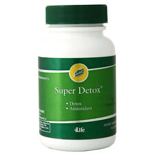 Super Detox 4Life Cleansing & Detox (60 Capsules Supports healthy liver function