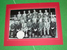Liverpool 1965/66 First Team Photo Signed x 6 incl Yeats Smith St John Lawler