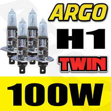 HONDA CIVIC TYPE S H1 100W HALOGEN CLEAR HEADLIGHT BULBS 4 PCS