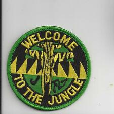PATCH USAF 80th FLYING TRAINING WING J FLIGHT WELCOME TO THE JUNGLE