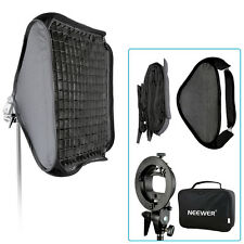 """Neewer 24""""x24""""Bowens Mount Softbox with Grid and S-type Flash Bracket for Nikon"""